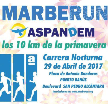carrera solidaria Marberun Aspandem Powermatic