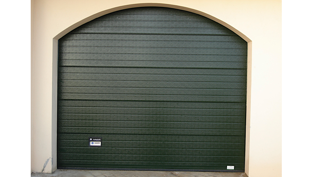 green sectional gate
